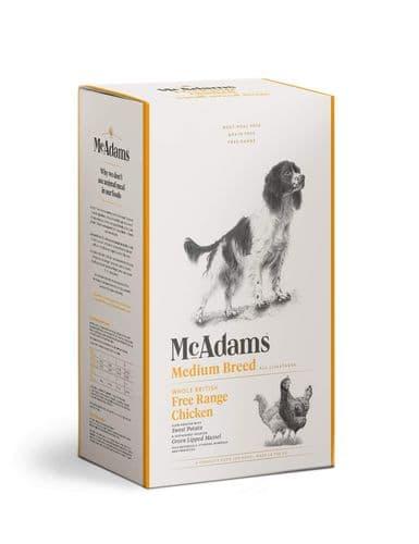 McAdams Dog Food: Adult Medium Breed Free Range Chicken