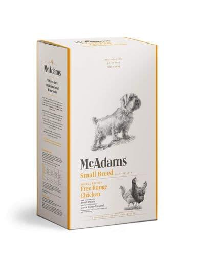 McAdams Dog Food: Adult Small Breed Free Range Chicken