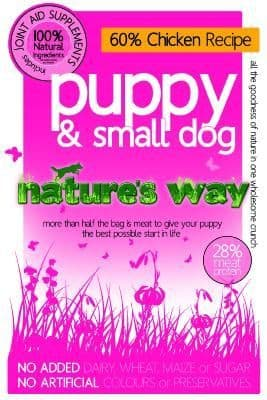 Nature's Way Dog Food: Puppy & Small Dog Chicken Recipe