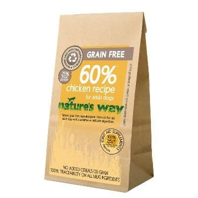 Nature's Way Grain Free Dog Food: Adult Chicken Recipe