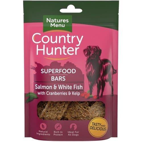 Natures Menu Country Hunter Superfood Bars Salmon 100g