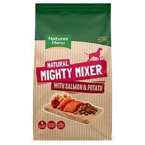 Natures Menu Dog Mighty Mixer with Salmon & Potato 2kg