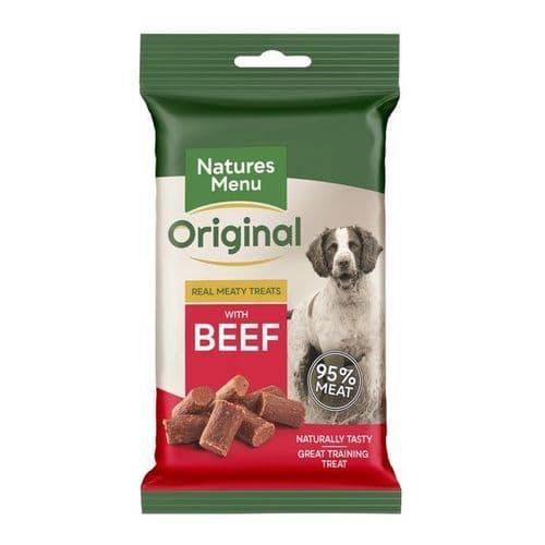 Natures Menu Dog Treats: Beef 60g