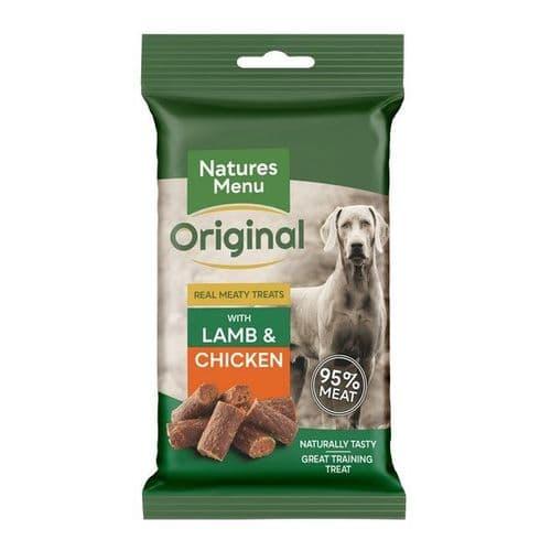 Natures Menu Dog Treats: Lamb & Chicken 60g