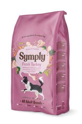 Symply Dog Food: Adult Fresh Turkey & Potato