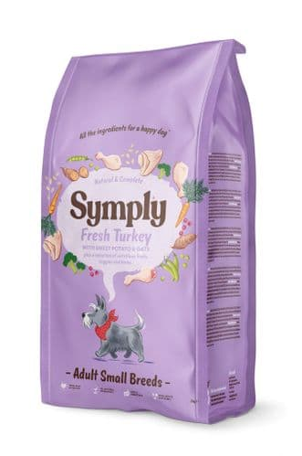 Symply Dog Food: Adult Small Breed Turkey & Potato
