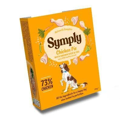 Symply Wet Dog Food: Adult Chicken with Brown Rice 7x395g