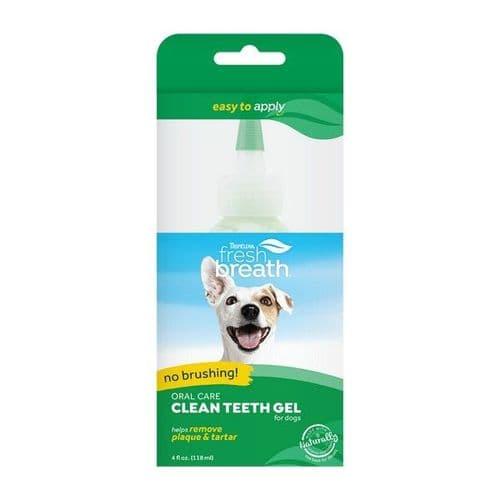 TropiClean Clean Teeth Oral Care Gel 118ml