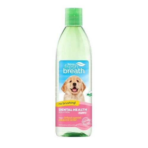 TropiClean Oral Care Dental Health Solution for Puppies 473ml
