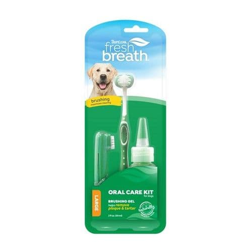 TropiClean Oral Care Kit for Dogs 59ml
