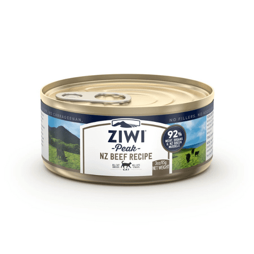 Ziwi Peak Wet Cat Food: Beef Recipe 85g