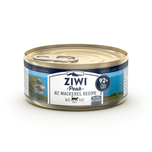 Ziwi Peak Wet Cat Food: Mackerel Recipe 85g