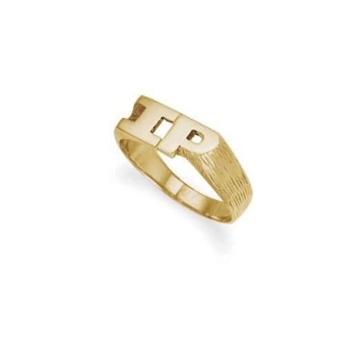 9ct Yellow Gold 5.0g Initial Ring