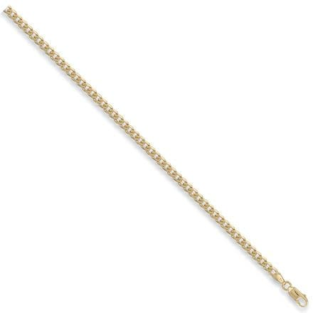 9ct Yellow Gold 20 Inch 3.8mm Solid Curb Chain