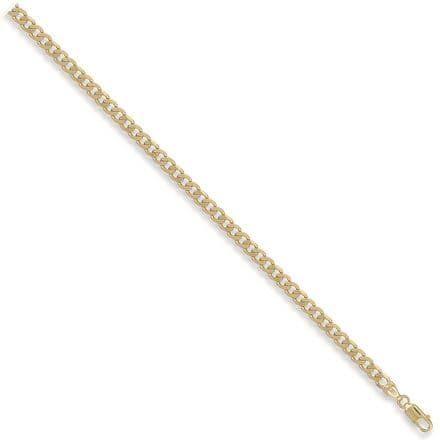 9ct Yellow Gold 20 Inch 4.6mm Solid Curb Chain