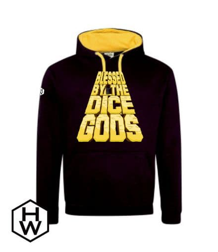 Blessed by the Dice Gods Unisex Hoodie