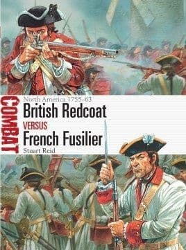 British Redcoat vs French Fusilier - North America 1755–63