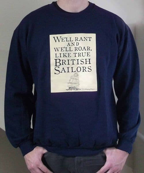 British Sailors Jumper/Sweatshirt by Galloping Major