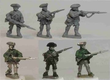 FIW AAM4 Anglo-American Militia With Bayonets
