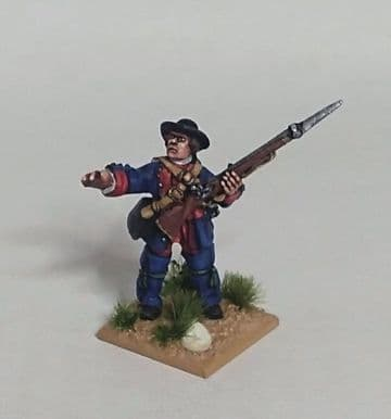 FIW BPT9 Anglo-American Provincial Sergeant in Short Coat & Cut Down Hat