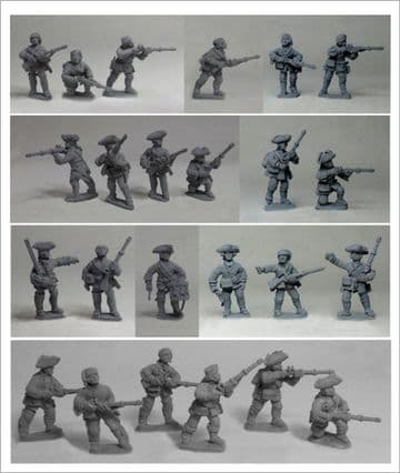 FIW FCFU4 Compagnies Franches de la Marine Skirmish Unit 4 in Small Clothes