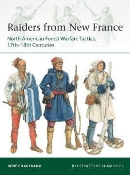 Raiders from New France - Osprey Elite 229