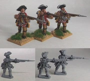 SYW/FIW B02 British Line Infantry – Push Your Bayonet