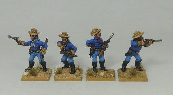 TWR USC1 Dismounted 1880s US Cavalry Troopers 1