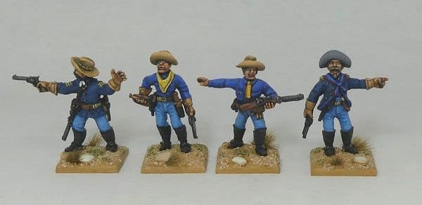 TWR USC3 Dismounted 1880s US Cavalry Command 1