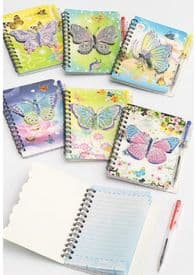 3D Butterfly Notepad with Pen