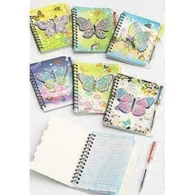 Butterfly Notepad with Pen