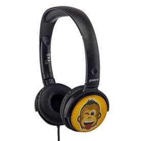 EarMOJI's Stereo Headphones - Monkey