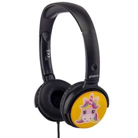 EarMOJI's Stereo Headphones - Unicorn