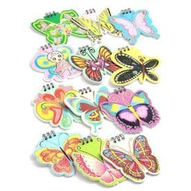 Easy Spiral Butterfly Notepad