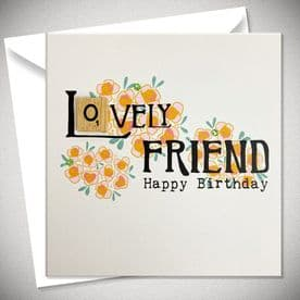 Happy Birthday -- Lovely Friend
