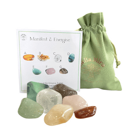 Manifest and Energise Crystals Gift Pack