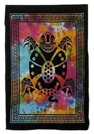 Mystic Turtle Cotton Tapestry