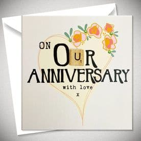 On Our Anniversary With Love