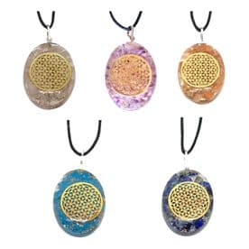 Orgonite Flower of Life Necklace