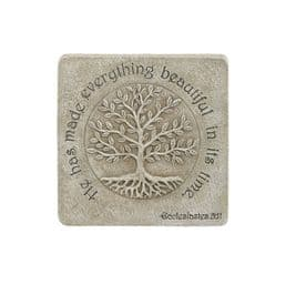Square Tree of Life Wall Plaque