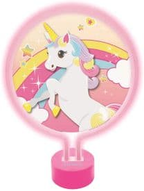 Unicorn Neon Lamp Nightlight - Pink
