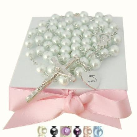 Personalised Rosaries with Larger Pearls