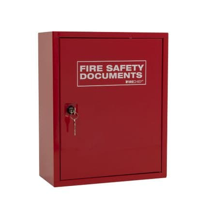 Fire Document Holder (Large Design with Key Lock)