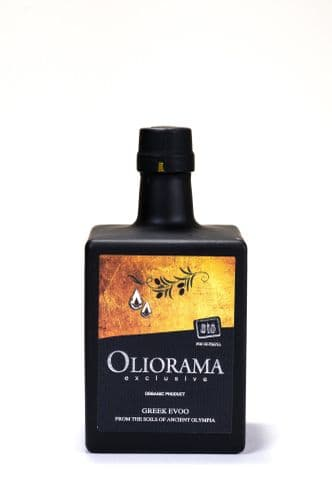 Oliorama - Organic Koroneiki-Kolireiki 250ml Exclusive Art Greek Extra Virgin Olive Oil