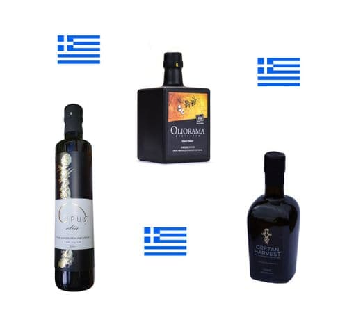 The Greek Olive Oil Flight