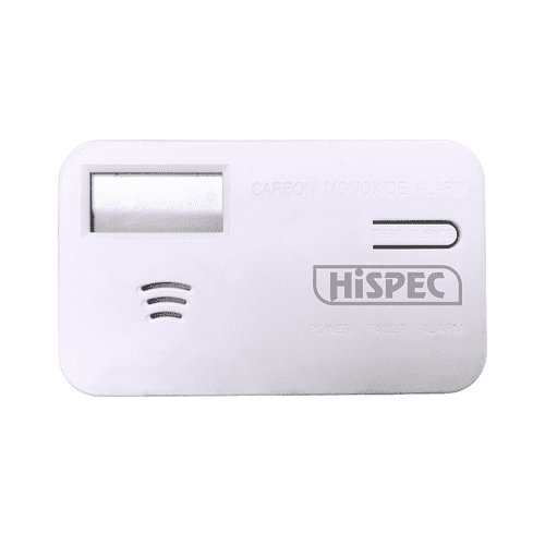 Battery Operated Carbon Monoxide Detector with Digital LCD Display