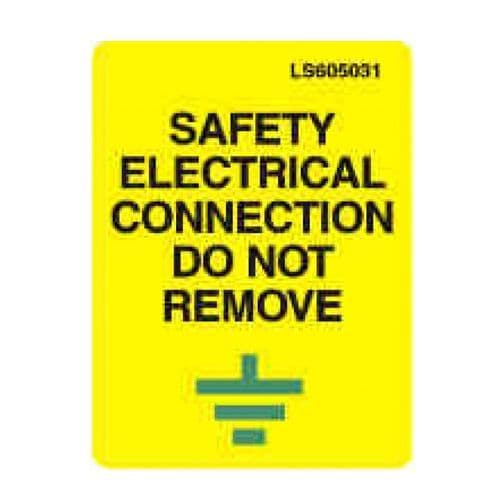 Safety Electrical Connection - LS605031
