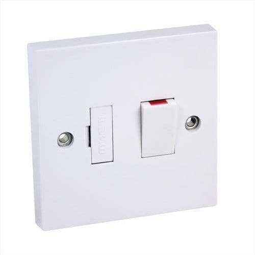 13A DP Switch Fused White