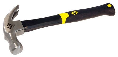C.K Claw Hammer Anti-Vibe Fibreglass Shaft 16oz