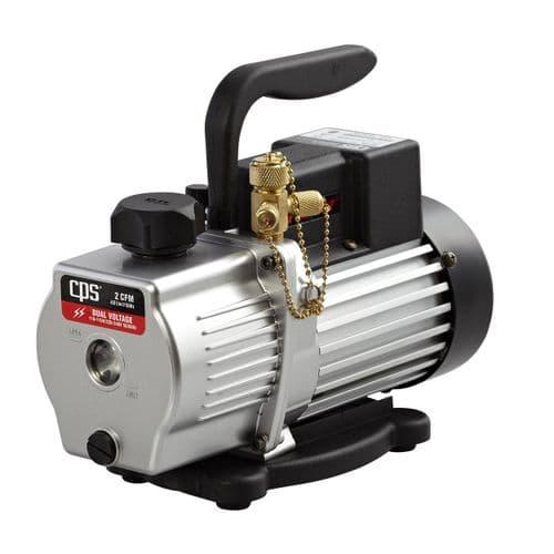 CPS Air Conditioning Vacuum pump 2-stage 2 cfm dual voltage VP2D
